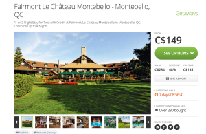 Chateau Montebello Groupon Deal