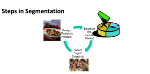 The Segmentation Process